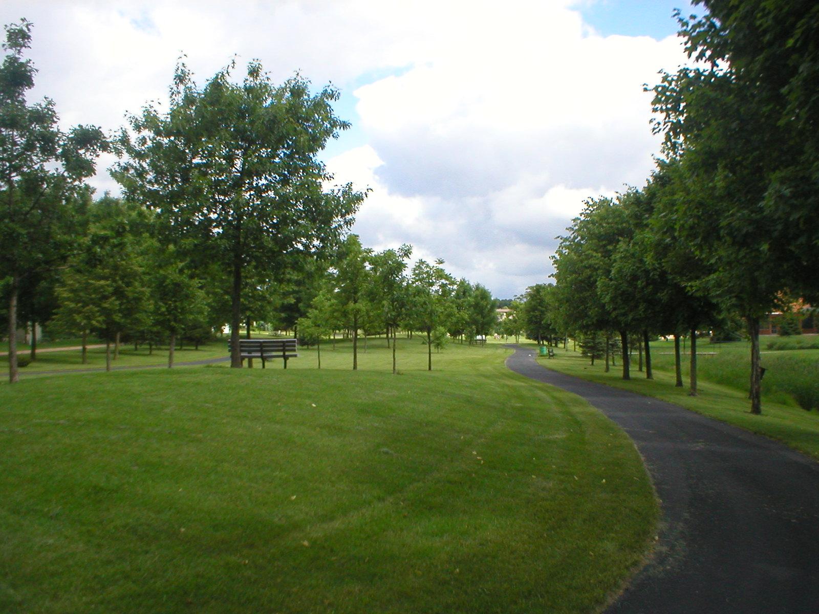 Greenway Park - Gateway to  Park